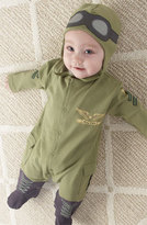 Baby Aspen Infant 'Pilot' Footie & Hat