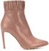 Chloé Gosselin Maud pleated trimming boots