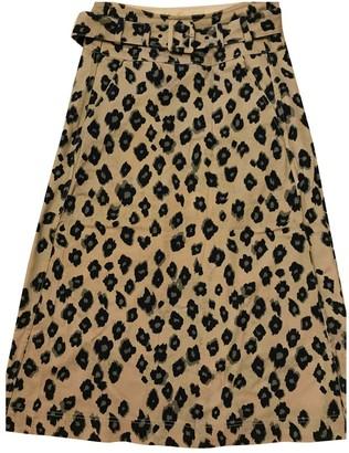 MUNTHE Cotton Skirt for Women