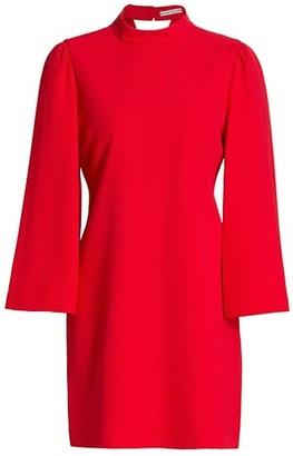 Alice + Olivia Bailey Bell-Sleeve Shift Dress