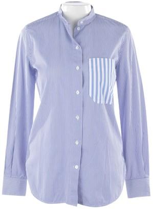 Celine Blue Cotton Top for Women