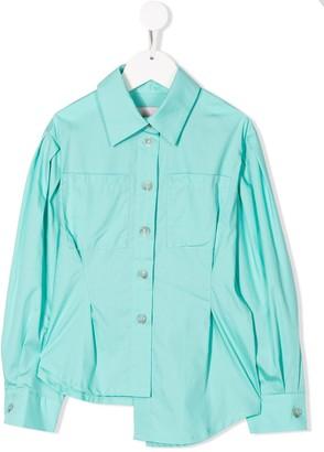 Natasha Zinko Kids Asymmetric Long-Sleeve Shirt