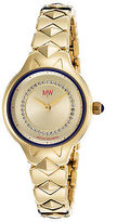 Matthew Williamson LBM34002-03 Women's Gold-Tone Stainless Steel Champagne