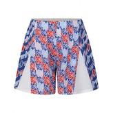 Kenzo KidsGirls Blue Patterned Crepe Shorts