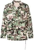 Mastermind Japan camouflage print jacket