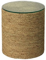 Pottery Barn Dixon Seagrass Round End Table