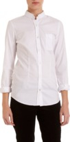 Golden Goose Mock Neck Dress Shirt Sale up to 60% off at Barneyswarehouse.com