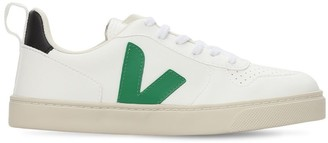Veja Vegan Leather Lace-Up Sneakers