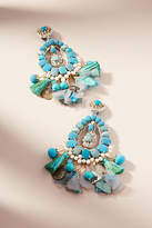 Ranjana Khan Turquoise Drop Earrings