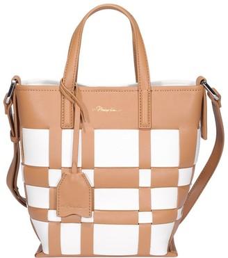 3.1 Phillip Lim Checked Top Handle Bag