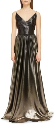 Givenchy Degrade Lame A-Line Gown