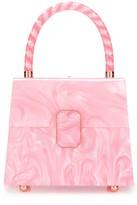 Sophia Webster Patti marbled tote bag