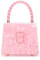Sophia Webster Patti marbled tote bag