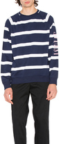 Stussy Striped Raglan Crew