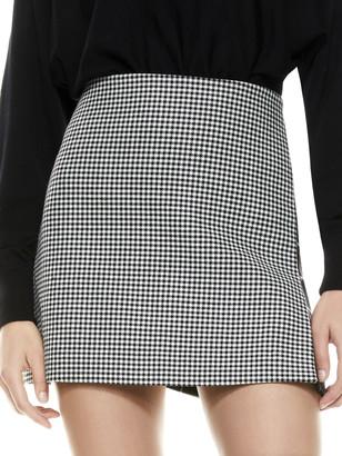 Alice + Olivia Darma High Waisted Mini Skirt