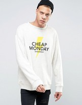 Cheap Monday Victory Sweater Lightning Logo
