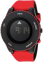 adidas Women's 'Sprung' Quartz Plastic and Canvas Casual Watch, Color:Red (Model: ADP3278)