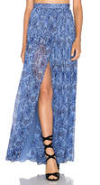 Majorelle Taos Skirt in Blue. - size XL (also in )
