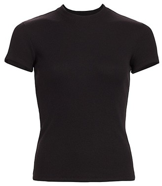 Theory Tiny Rib-Knit Tee