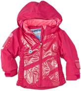 Obermeyer Girls' Prism Pink Hooded Jacket