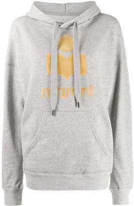 Etoile Isabel Marant logo print hoodie