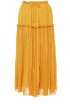 Apiece Apart Dulce Accordion Midi Skirt