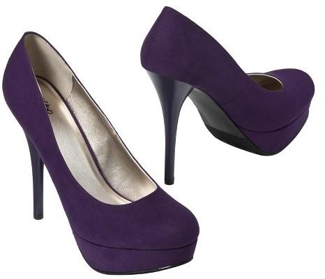 Mossimo Women's Paisley Platform Pump - Purple
