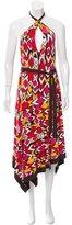 Diane von Furstenberg Silk Abstract Dress