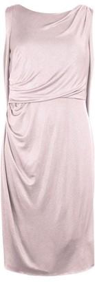 Adrianna Papell Adrianna Draped Short Dress