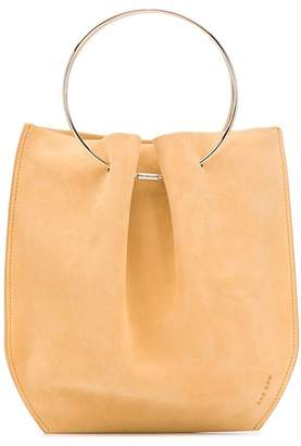 The Row Micro structured bucket bag