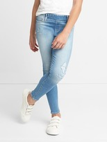 Gap High stretch distressed jeggings