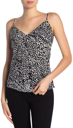 Frame Silk Leopard Print Camisole
