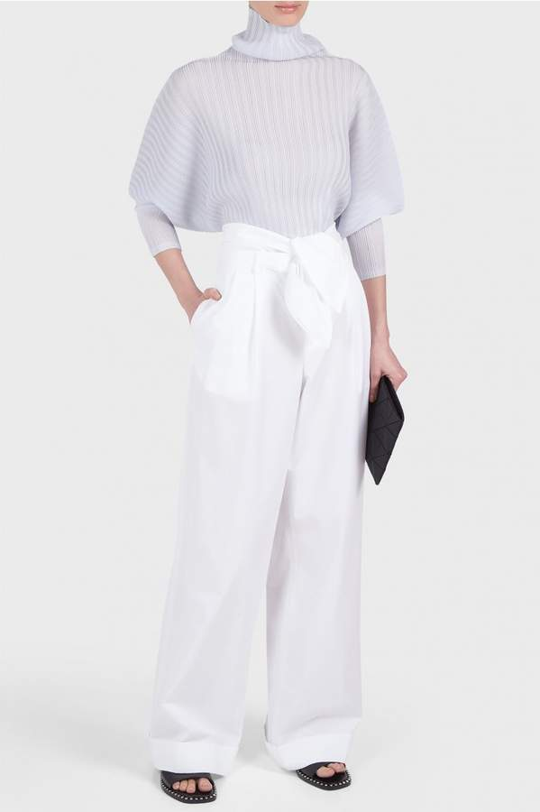 Alexander Wang Front Pleated Oversized Pants