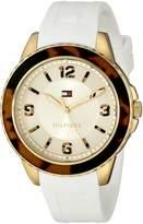 Tommy Hilfiger Women's 1781542 Everyday Sport Analog Display Quartz White Watch