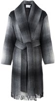 Alexander Wang checked coat - women - Acrylic/Polyamide/Polyester/Wool - 0