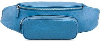 Prada Ostrich Leather Belt Bag