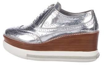 f334cc12a0 Women's Silver Brogues - ShopStyle