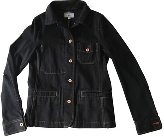 Uniqlo Black Denim - Jeans Jacket for Women