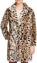Love Token Nicolette Faux Fur Coat