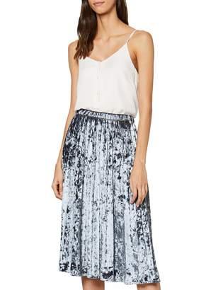 Herrlicher Women's RiRi Jersey Velour Skirt