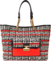 Karl Lagerfeld K Kuilted Tweed Shopper