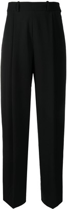 Pre-Owned Tailored Loose-Fit Trousers
