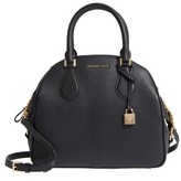 MICHAEL Michael Kors Large Briar Leather Satchel - Black