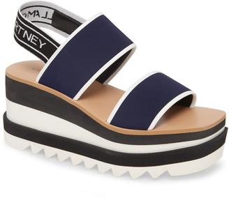Stella McCartney Platform Wedge Sandal
