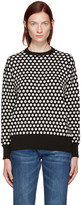Edit Black & White Polka Dot Sweater