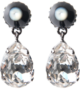Givenchy Cone and Crystal Earring