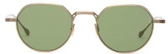 Jacques Marie Mage Fontana Round Titanium Sunglasses - Gold