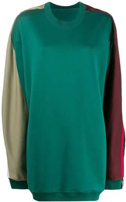 Y/Project oversized block colour jumper