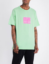 Blood Brother Brickies Music cotton-jersey T-shirt