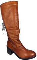 Bos. & Co. Cognac Fyllis Waterproof Leather Boot